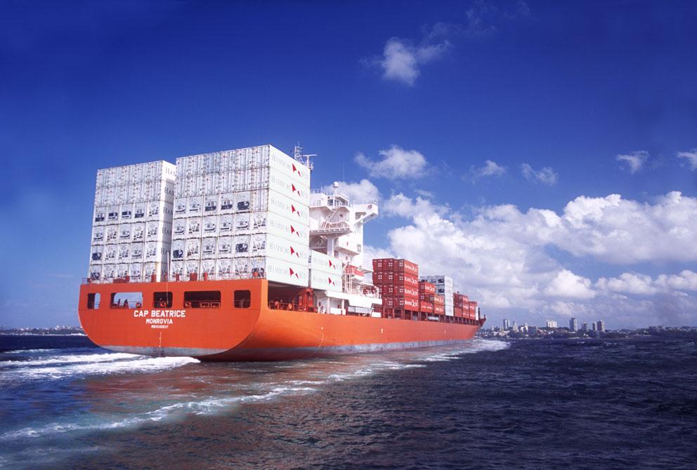 Hamburg Suds Cap Beatrice Shipping Export Trade