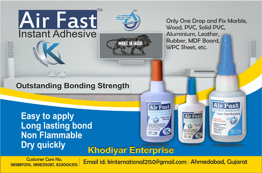 Air Fast Instant Adhesive