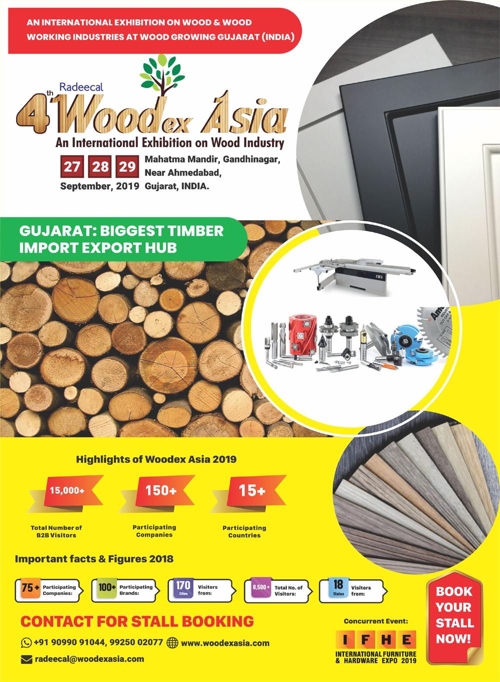 4th Woodex Asia