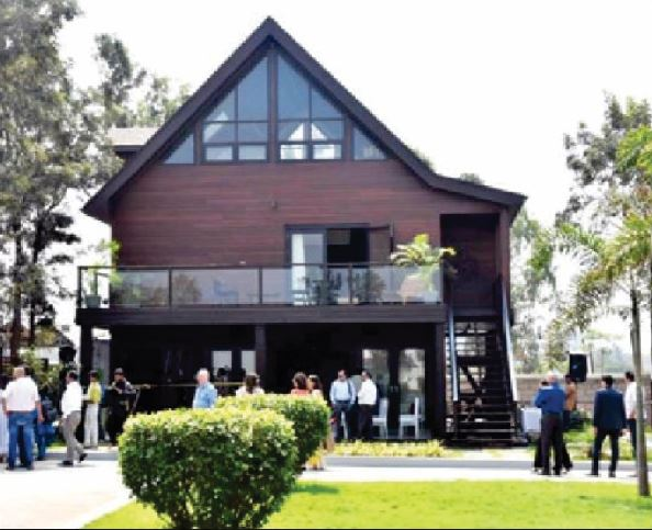India's first wood frame house