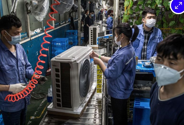 Virus shockwave is hitting China's factories