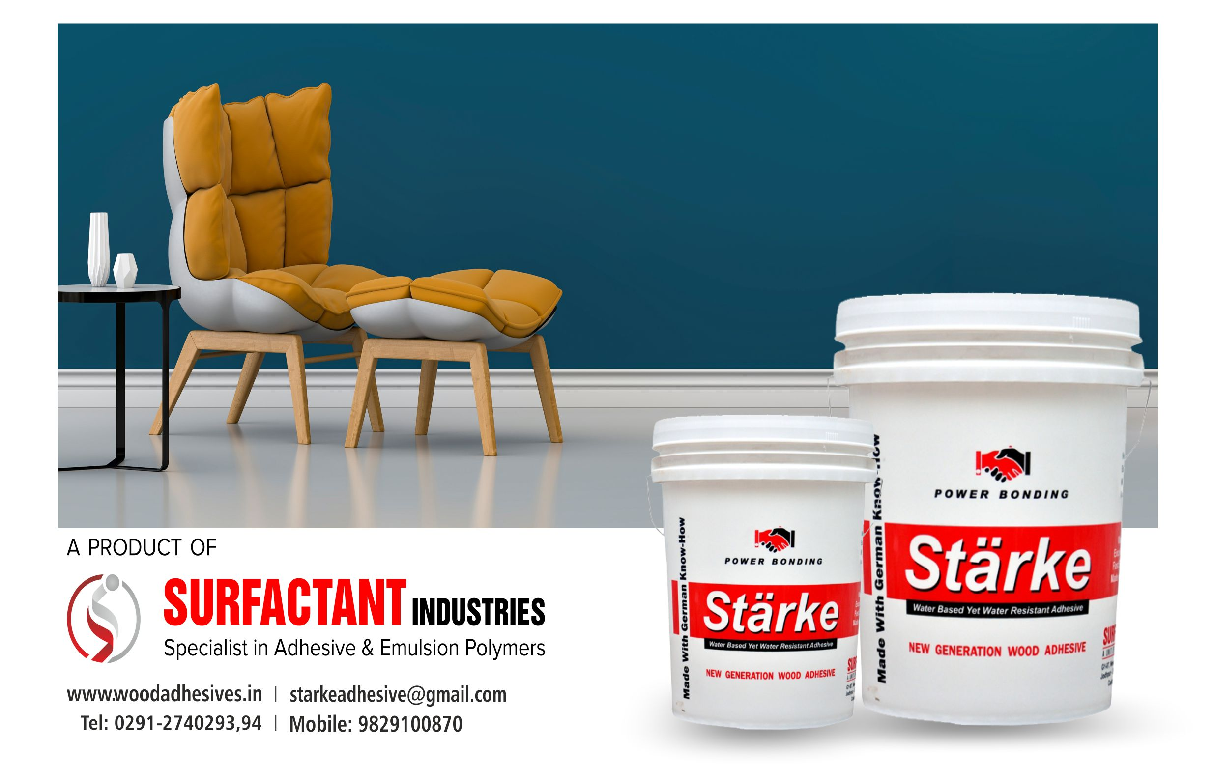 Surfactant Industries half page